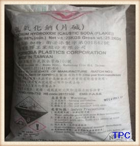 CAUSTIC SODA FLAKES 98%MIN