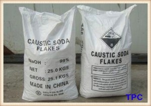 CAUSTIC SODA FLAKES 99% MIN